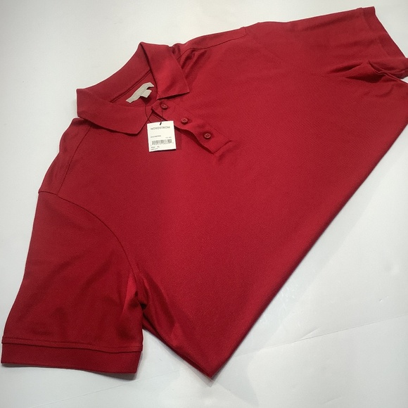 Nordstrom Men's Polo Shirt Adult Size XL Red NWT